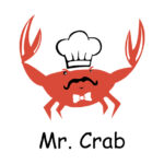 Mr. Crab logo